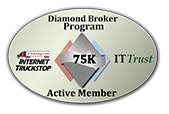 Active Member of the Internet Truckstop Diamond Broker Program